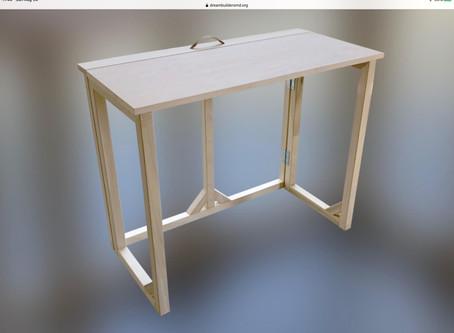 September DreamBuilders' Desk Build Events