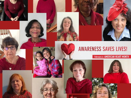 The WOCC is in Red for Heart Health Month!