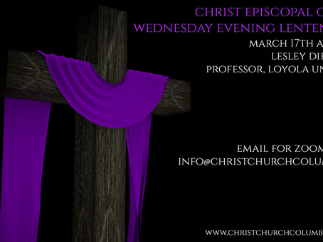 Wednesday Evening Lenten Series - Lesley DiFransico