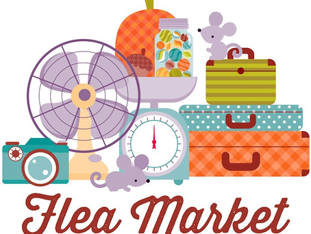 The Annual Christ Church Flea Market : Saturday, September 22nd