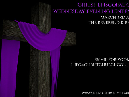Wednesday Evening Lenten Series - Rev. Kirk Kubicek
