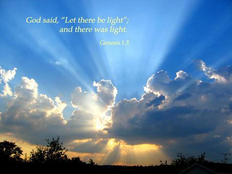 Lenten Meditation: Where Was God's Light Shining in 2020?