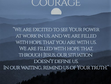 Lenten Meditation: Passages on Courage