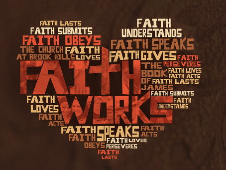 Lenten Meditation: Faith Acts