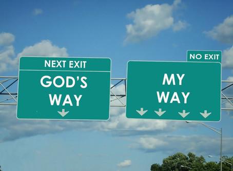 Lenten Meditation: Whose Control