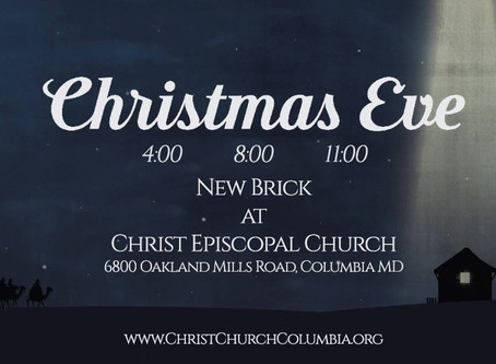 Join Us on Christmas Eve - December 24th