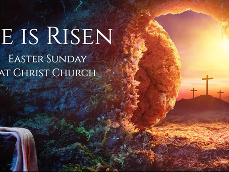 Collect, Readings, Sermon, and Livestream for Easter Sunday