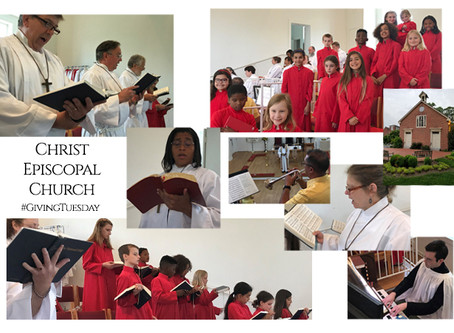 On this year's #GivingTuesday, please help support our excellent Christ Church Music Ministry.