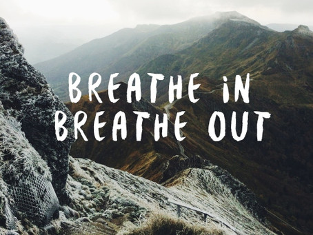 Lenten Meditation: Breathe In, Breathe Out
