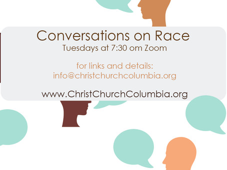 Conversations on Race - This Evening
