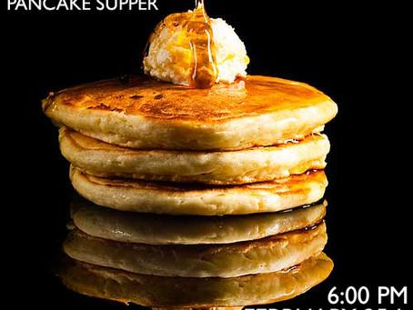 Christ Church's Shrove Tuesday Pancake Supper - February 25th