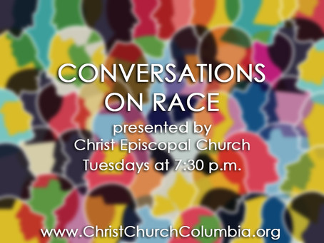 Conversations on Race: Tonight at 7:30 p.m.