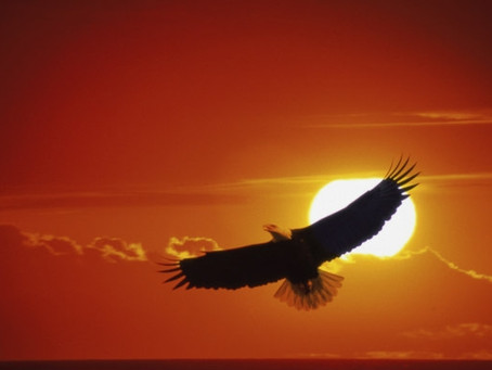 Saturday Song: On Eagle's Wings