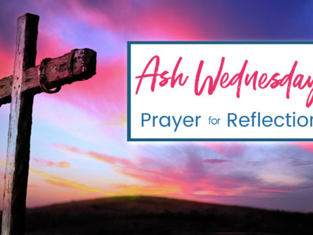 Lenten Meditation: Prayer for Reflection