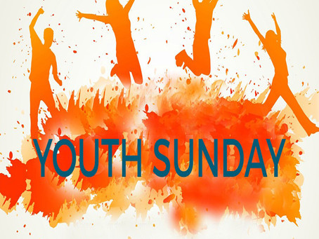 It's Youth Sunday at Christ Church!