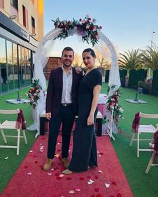 En la jornada de bodas del @hotellasarte