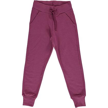 MAXOMORRA organic Sweatpants | Plum