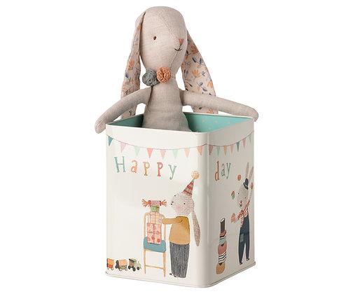 MAILEG Happy Day Bunny in box, Medium