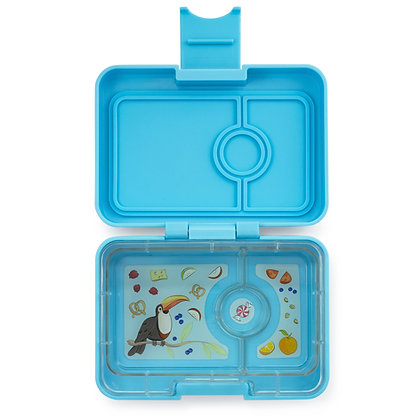 Yumbox MiniSnack lunchbox Nevis Blue