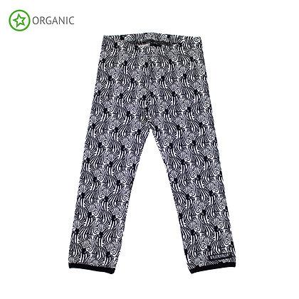 VILLERVALLA organic Leggings | Zebra