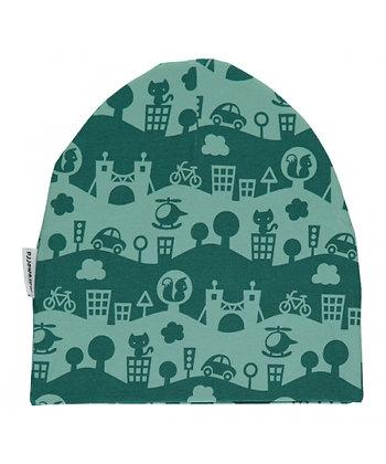 MAXOMORRA organic Hat | City Landscape