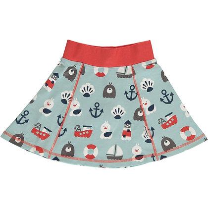 MAXOMORRA organic Skirt Vipp | Blue Ocean