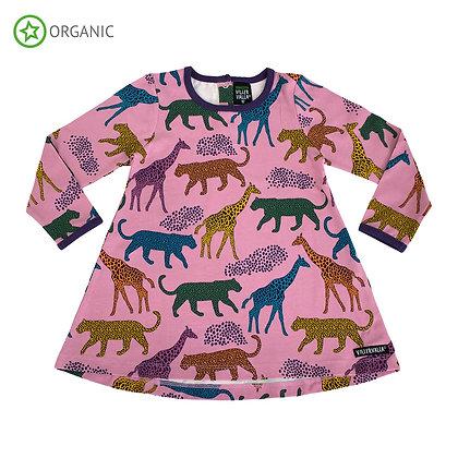 VILLERVALLA organic Long Sleeve Tunic | Savannah Sorbet