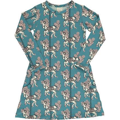 MAXOMORRA organic Long Sleeve Dress | Merry-go-round