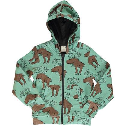 MAXOMORRA organic Cardigan Hood   Mighty Moose
