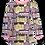 Thumbnail: PaaPii VIENO organic Long Sleeve Tunic, Old Town | Light Pink and Yellow