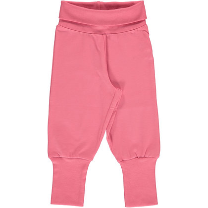 MAXOMORRA organic Rib Pants | Rose Pink
