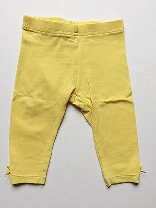 NEXT Yellow Leggings | 3-6 months