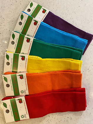 SLUGS & SNAILS Children Knee High Socks   Block Colours
