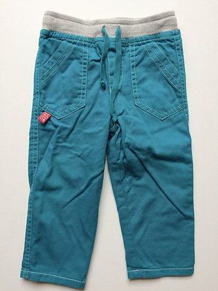 KEEDO PreLoved turquoise double lined trousers | 12-18 months