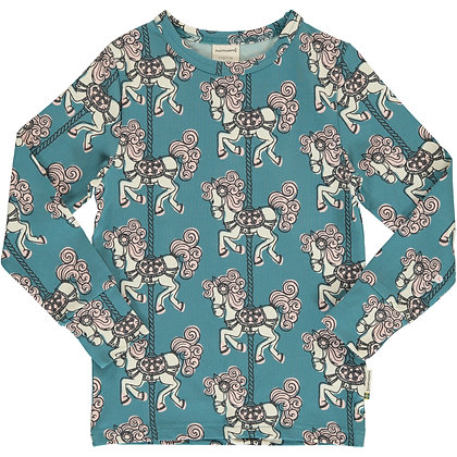 MAXOMORRA organic Long Sleeve Top | Merry-go-round