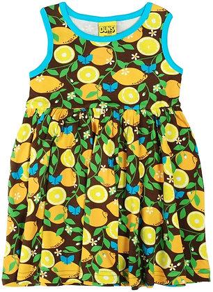 DUNS Sweden organic Sleeveless Dress | Lemon