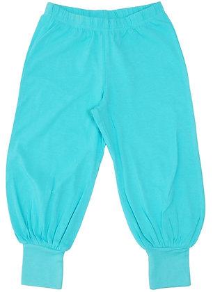 DUNS More Than a Fling organic Baggy Pants   Light Turquoise