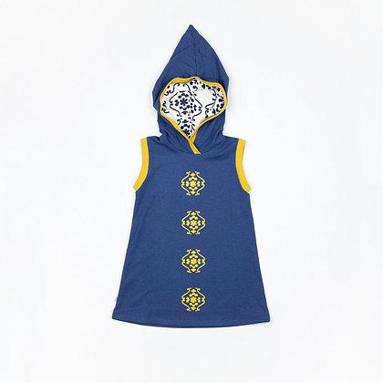 ALBA of Denmark Hooded Dress Trine | Blueprint
