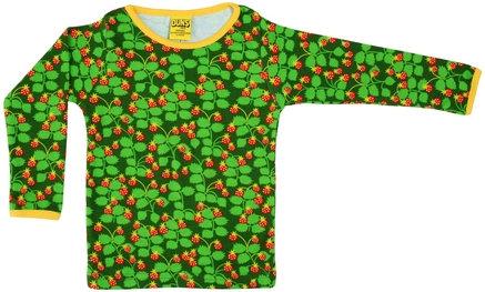 DUNS Sweden organic Long Sleeve Top | Wild Strawberries