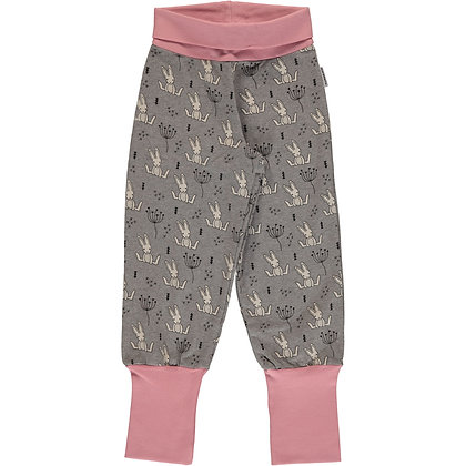 MAXOMORRA organic Rib Pants Sweat | Sweet Bunny