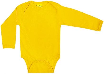 DUNS More Than a Fling organic Long Sleeve Body | Yellow