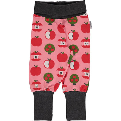 MAXOMORRA organic Rib Pants | Apple