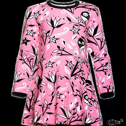 PaaPii SINNA organic Skaterdress, Early Birds | Light Pink