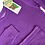 Thumbnail: Slugs&Snails organic Waffle Cotton Set | Amethyst Purple