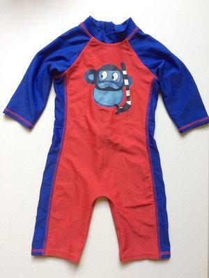 DEBENHAMS Monkey Swimsuit UPF40+   18-24 months