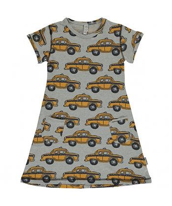 MAXOMORRA organic Short Sleeve Dress | Taxi