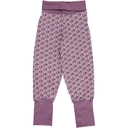 MAXOMORRA organic Rib Pants | Toucan
