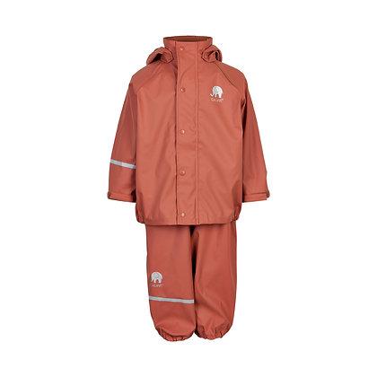 CeLaVi Basic Rainwear Set | Redwood