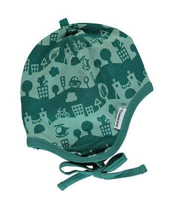 MAXOMORRA organic Helmet Hat | City Landscape