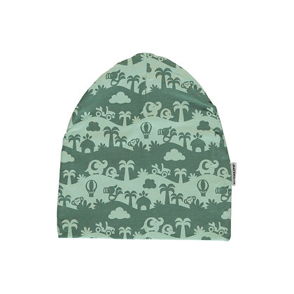 MAXOMORRA organic Hat | Jungle Landscape